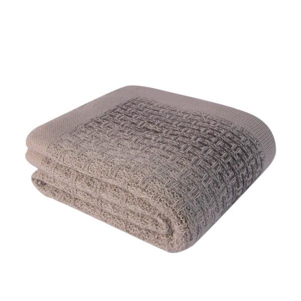Hnedá deka Touta, 130×170cm