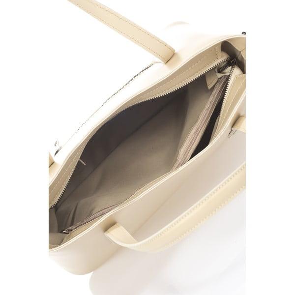Béžová kožená kabelka Markes Nessie