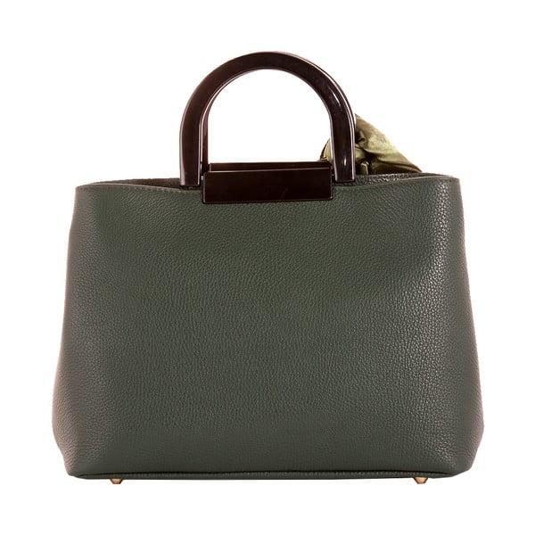 Zelená kabelka z pravej kože Andrea Cardone Angelo