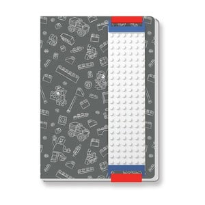 Sivý zápisník LEGO®