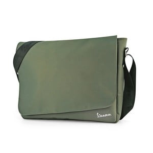 Taška cez rameno Vespa Messenger Green