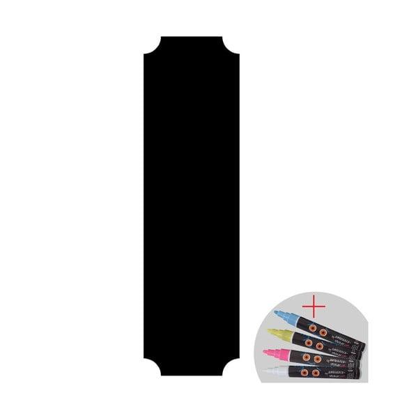 Set tabuľovej samolepky a popisovacej fixky Fanastick Giant Chalkboard