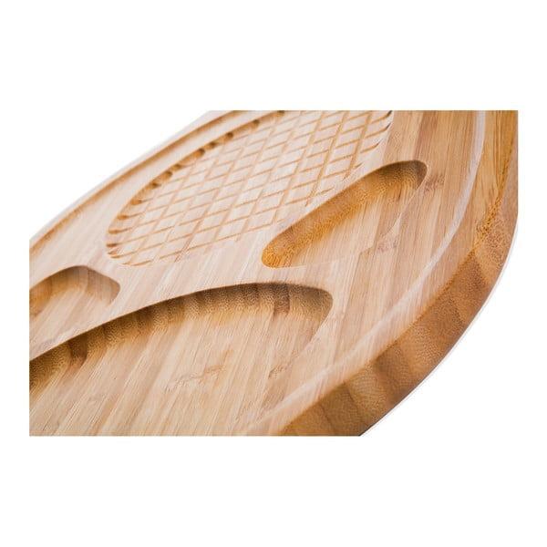Bambusový servírovací tanier Bambum Hugo