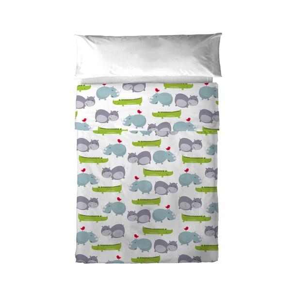 Detská obliečka na vankúš a prikrývka Mr. Fox Hippo, 100x130cm