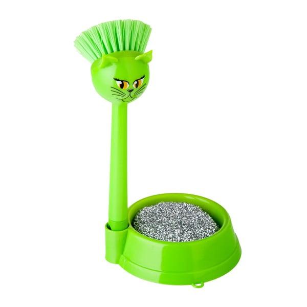 Sada na umývanie riadu Vigar Green Cat