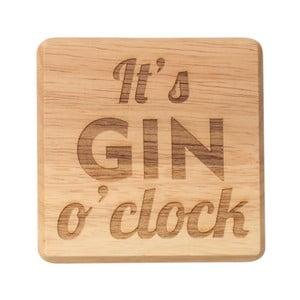 Podložka po pohár z exotického dreva T & G Woodware It 'Gin O'Clock