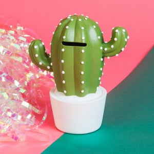 Pokladnička Just 4 Kids Money Box Potted Cactus