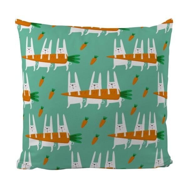 Vankúš Healthy Carrot, 50x50 cm