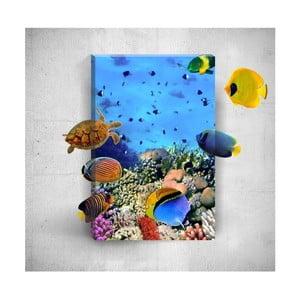 Nástenný 3D obraz Mosticx Under The Water, 40×60 cm