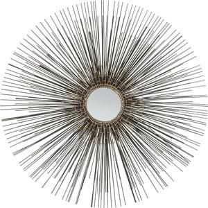 Zrkadlo Kare Design Wire Sole, ø85cm