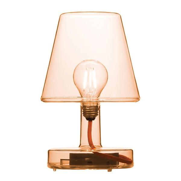 Oranžová stolová lampa Fatboy Transloetje