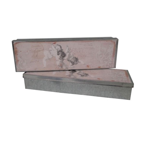 Box Antic Line Zinc Angel