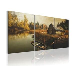 Obraz na plátne Artgeist Hut 120 x 60 cm