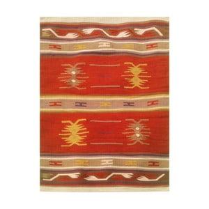 Vlnený koberec Kilim 129, 120x180 cm
