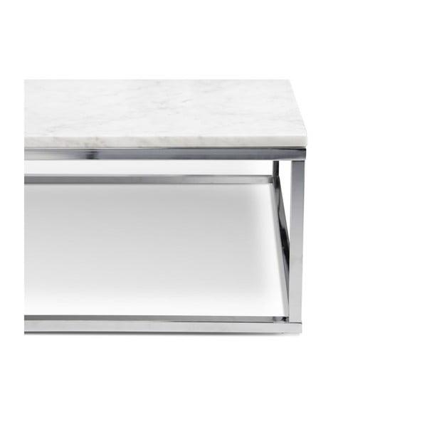 Malý biely stolík TemaHome Prairie Marble