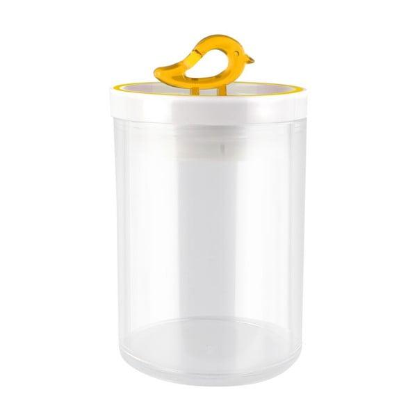 Žltá dóza Vialli Design Livio, 0,8 l
