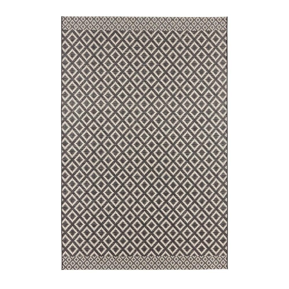Čierno-béžový koberec Zala Living Minnia, 130 × 190 cm