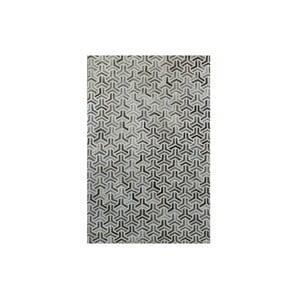 Koberec z pravej kože Bolzano Grey, 140x200cm