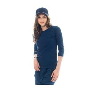 Tmavomodré bavlnené tričko Lull Loungewear Genes, veľ. XS