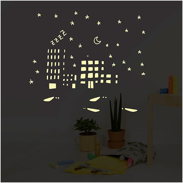 Svietiaca samolepka Chispum City Lights