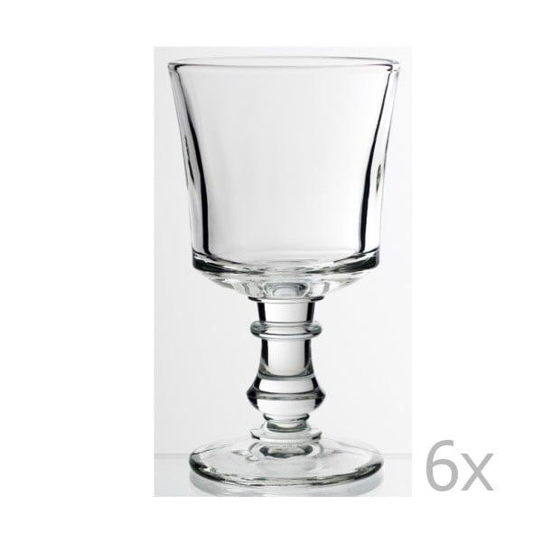 Sada 6 pohárov na vodu Jacques, 240 ml