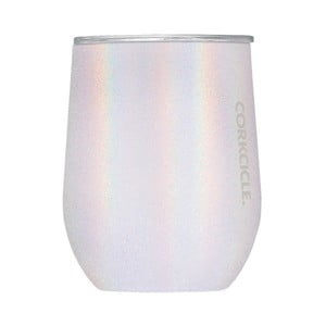 Metalický cestovný termohrnček Corkcicle Stemless Unicorn Magic, 350 ml