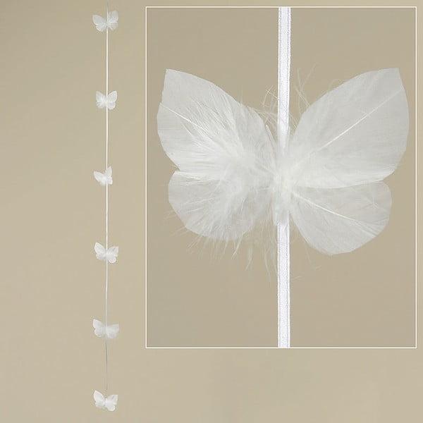 Girlanda z pierok Feathers, 120 cm