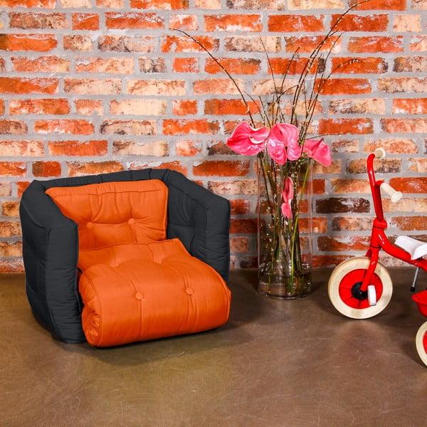Detské kresielko Karup Baby Dice Orange/Gray