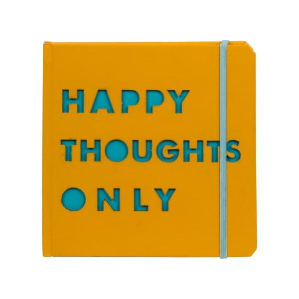 Zápisník Happy Thoughts