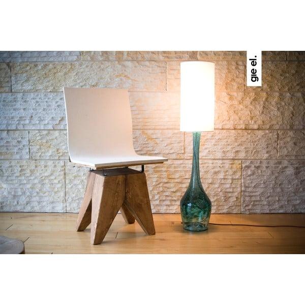 Stolová lampa Glass Table, tyrkysová