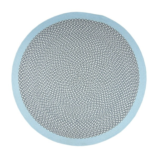 Detský modrý koberec Nattiot Brenda, Ø120cm