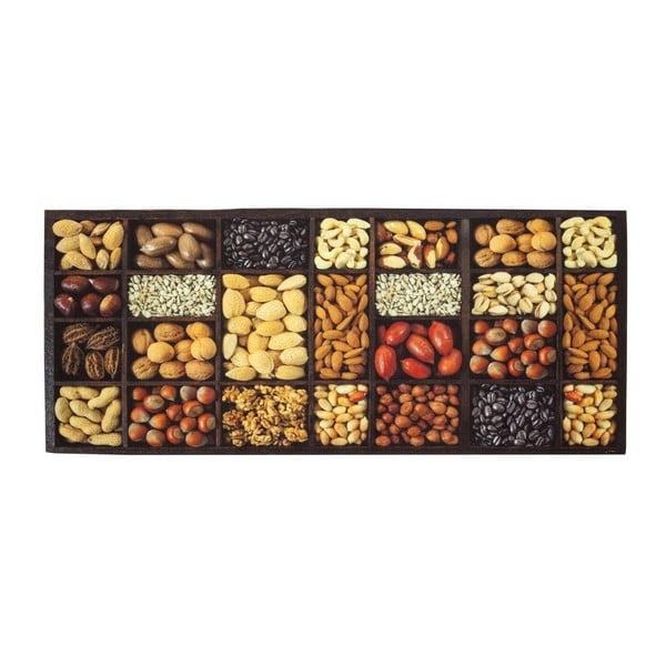 Vysokoodolný kuchynský koberec Semi, 60x300 cm