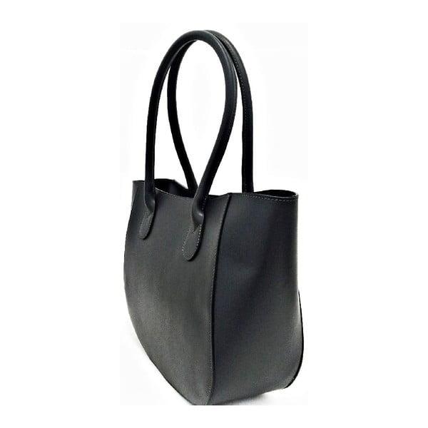 Kožená kabelka Mina Dark Grey
