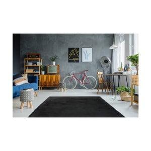 Tmavosivý ručne vyšívaný koberec Arte Espina Rabbit 100, 180 × 280 cm