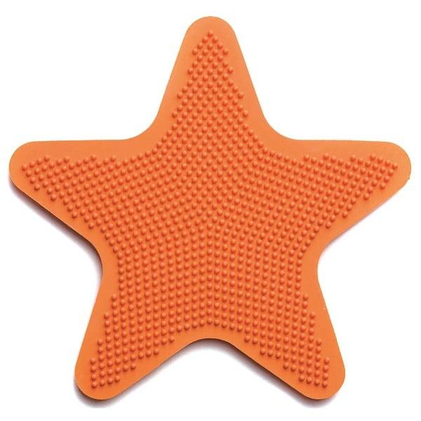 Sada 6 dekoratívnych podložiek do kúpeľne Star Papaya