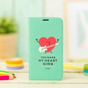Mätovozelený obal na Samsung Galaxy S5 Mr. Wonderful Heart