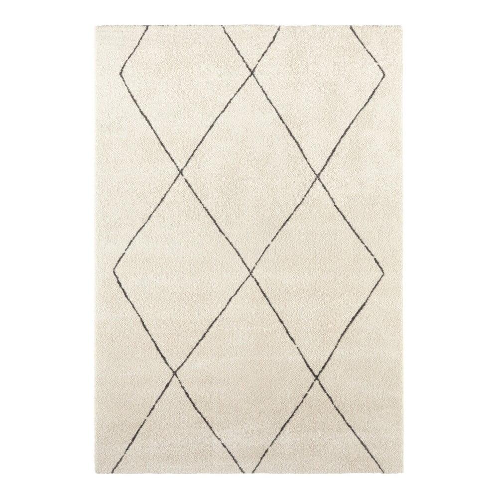 Krémovobiely koberec Elle Decor Glow Massy, 160 x 230 cm