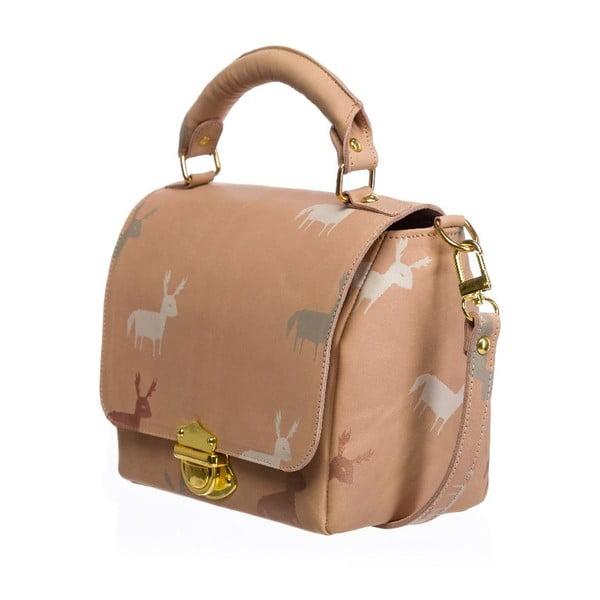 Kožená kabelka Palmera Pink