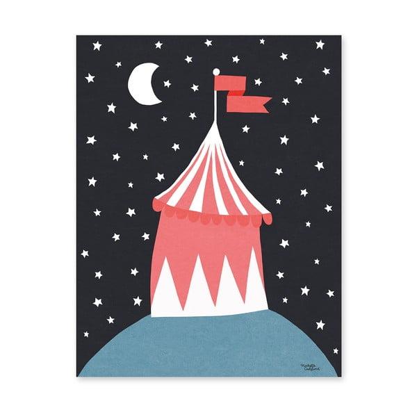 Plagát Michelle Carlslund Circus Tent, 30x40cm