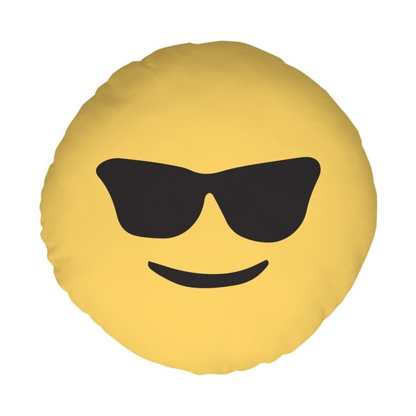Vankúš Emoji Glasses, 39 cm