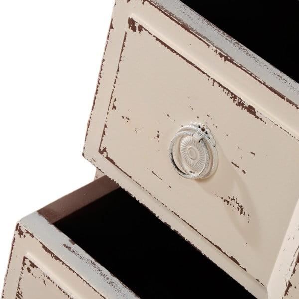 Komoda s 3 zásuvkami Ivoire Roze