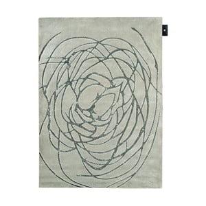 Vlněný koberec Chloe Silver, 170x240 cm