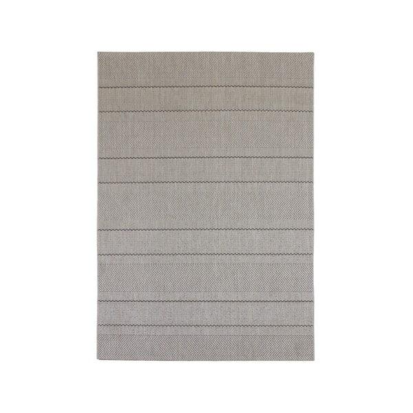 Koberec vhodný aj do exteriéru Patio Beige Stripe, 160x230 cm