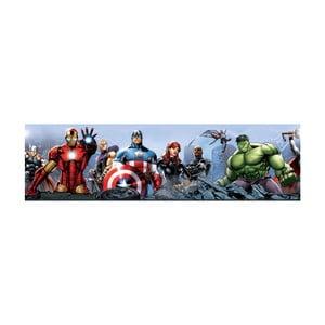 Samolepiaca bordúra AG Design Avengers, dĺžka 5 m