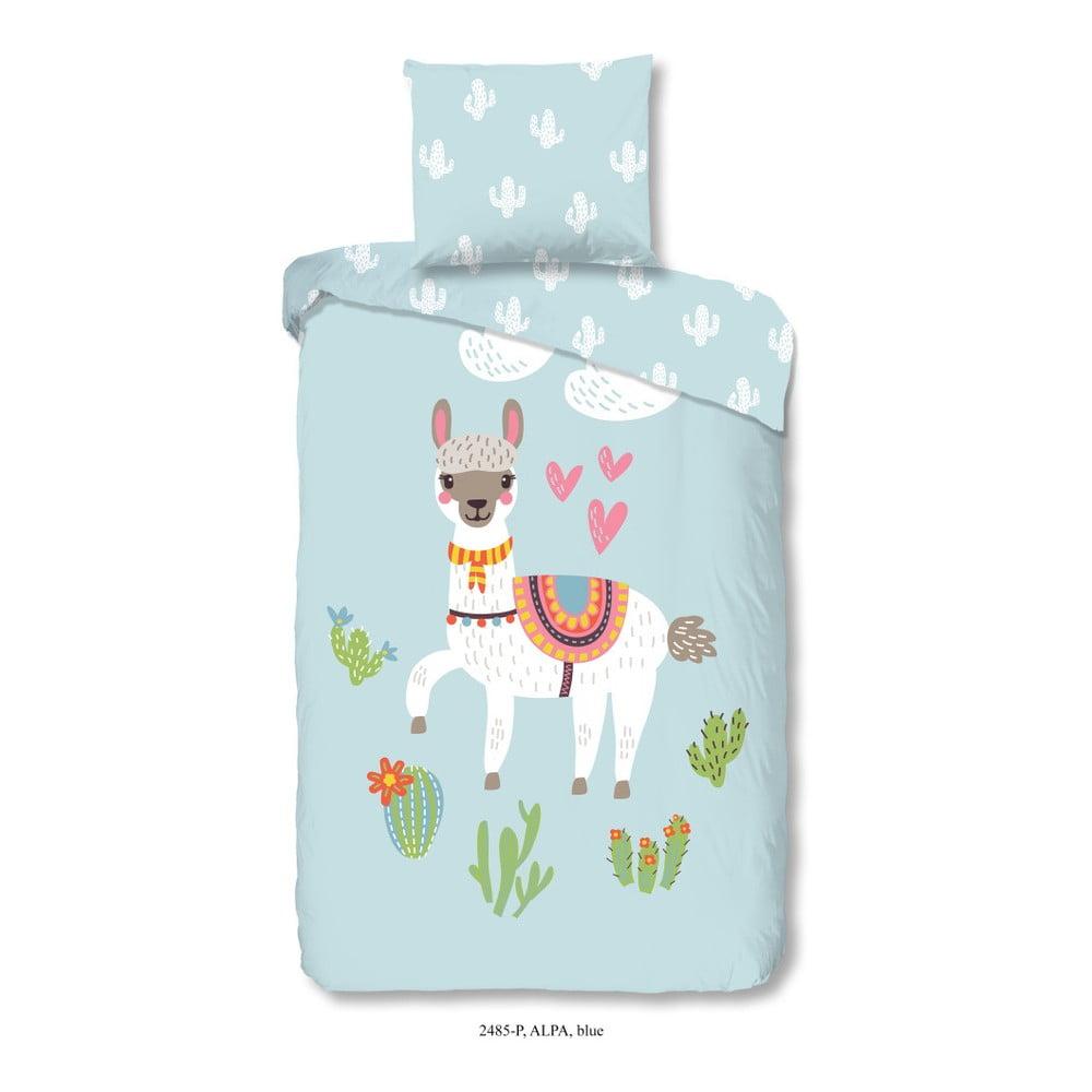 Detské bavlnené obliečky Good Morning Alpa, 140 × 200 cm