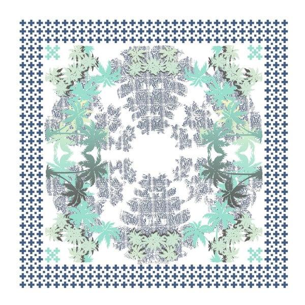 Šatka Pammy Blue, 130x130 cm