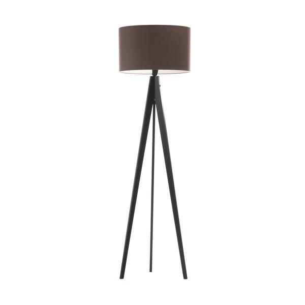 Stojacia lampa Artist Dark Taupe/Black, 125x42 cm