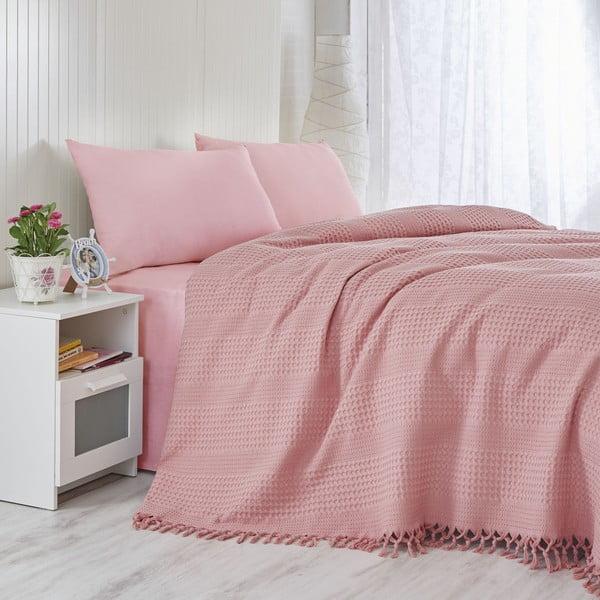 Ľahká prikrývka na posteľ Coral,220x240cm