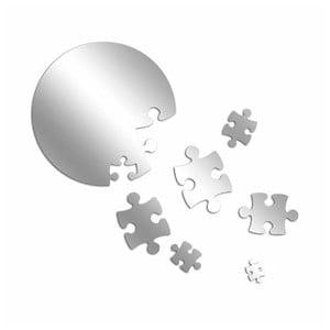 Dekoratívne zrkadlo Puzzle Moon