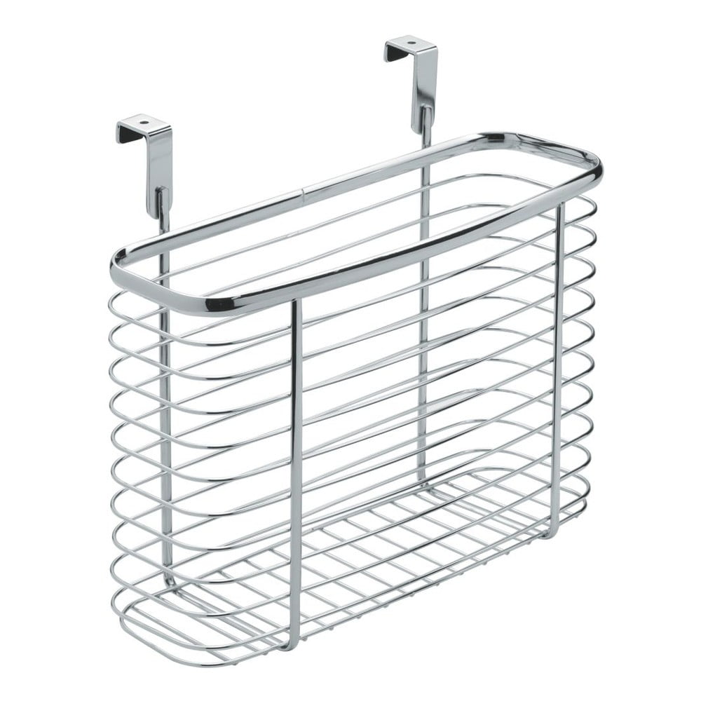 Kovový košík na kuchynské dvierka iDesign Axis Cabinet